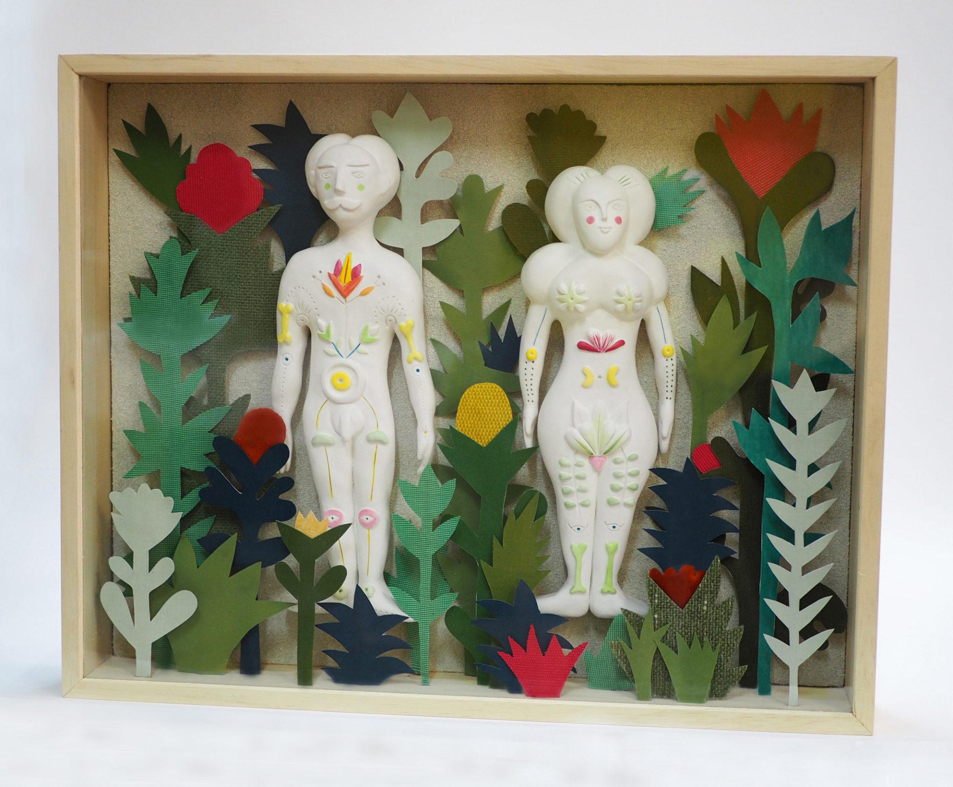 herbier sculpture cabinets de curiosités contemporains