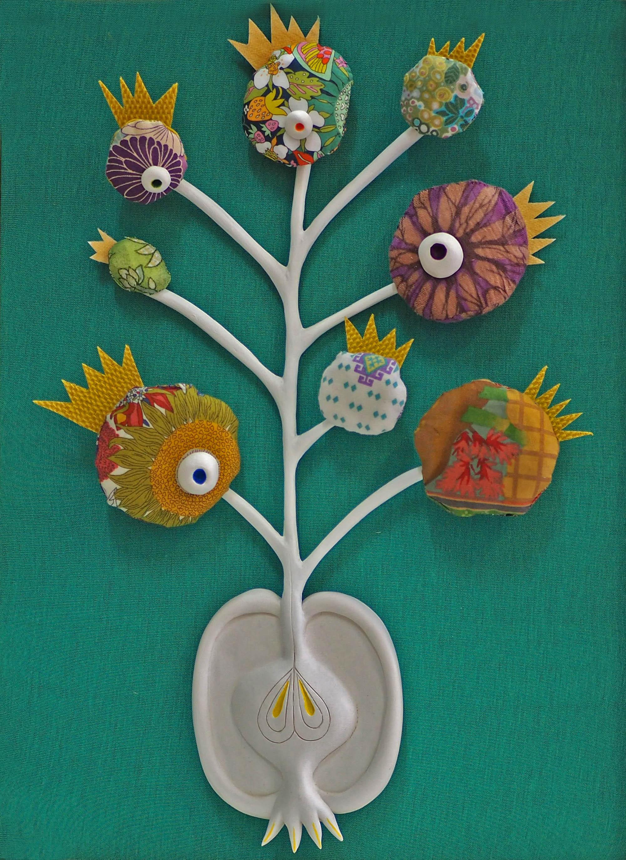 herbier sculptureboîte enthomologique Arbre de vie