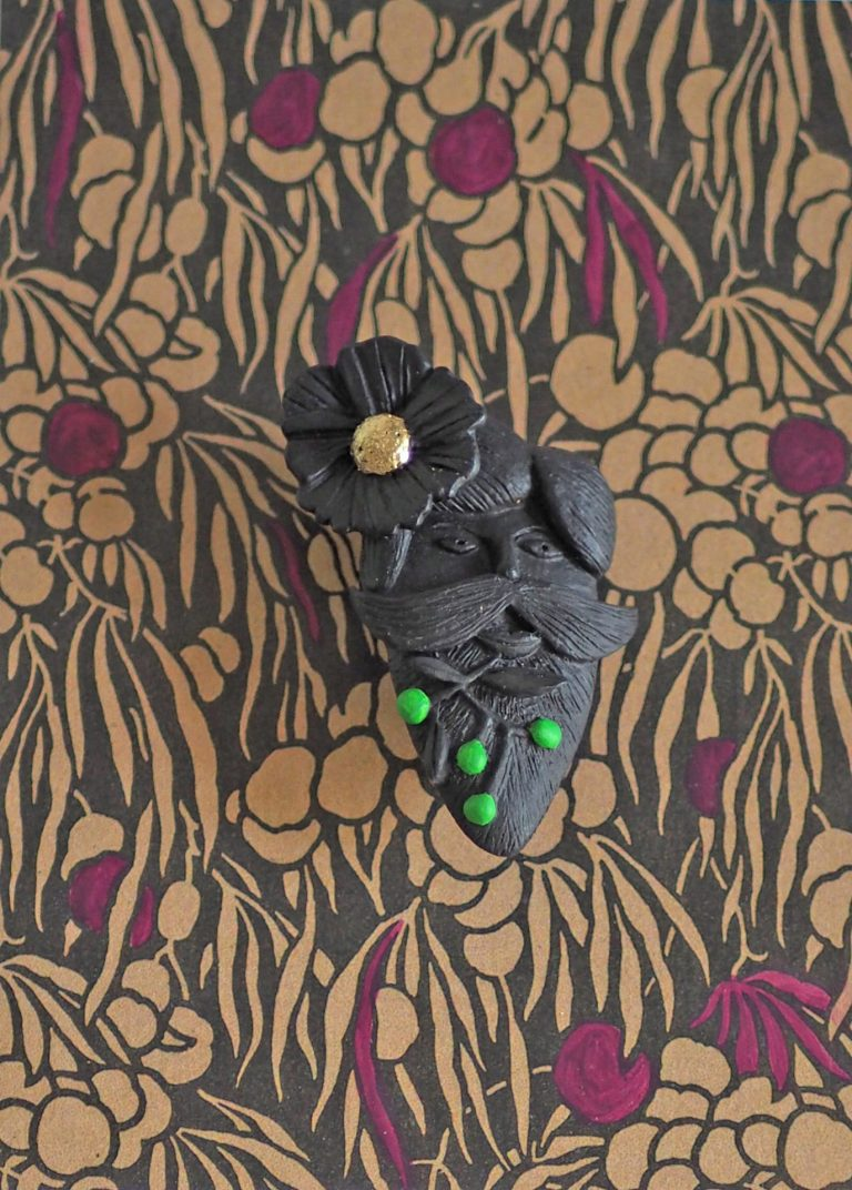 broche bijoux fait main collection Barbus